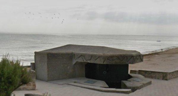 photo et histoire rapide de Courseulles/ Mer