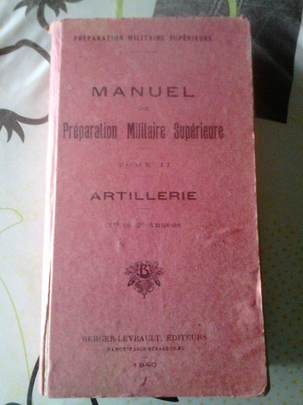 Manuel Artillerie