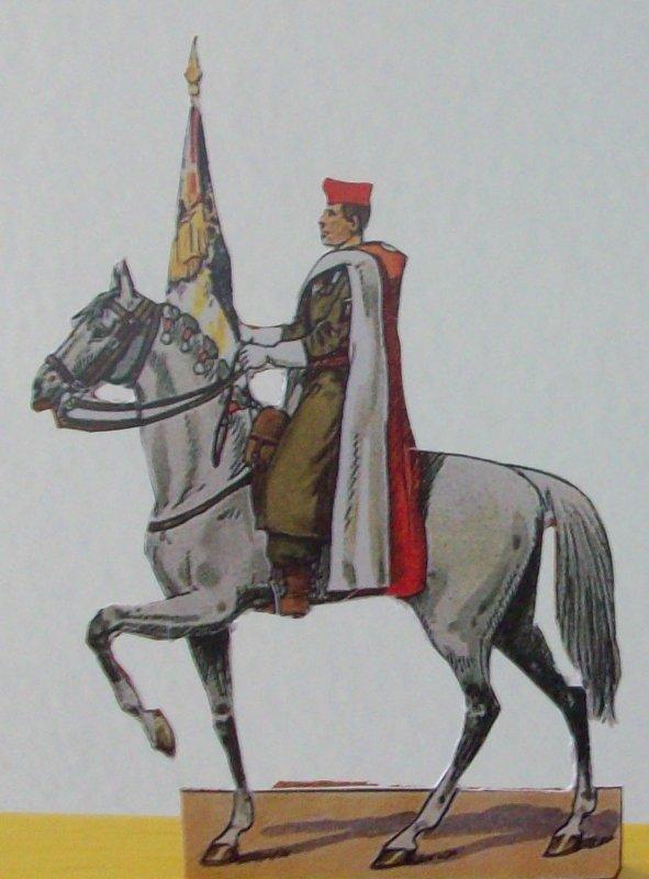Soldat de papier Spahis
