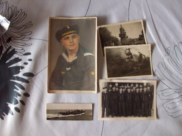 lot de photos et CP Kriegsmarine