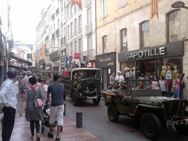 Suite reportage photo libération de Perpignan 2017