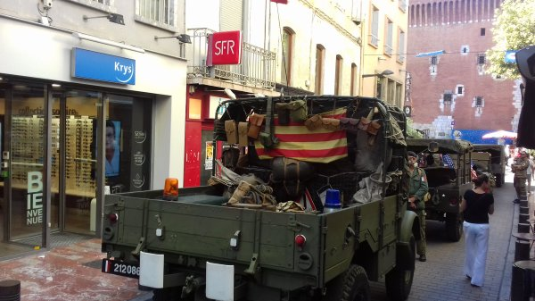 reconstitution libération de Perpignan 2018