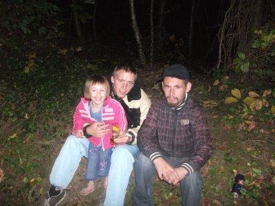 voici mon bo frere mon homme et ma fille