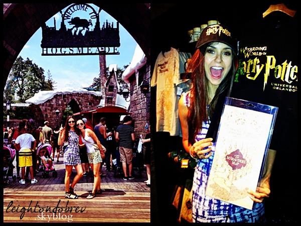 """Photo personnelle de Nina dans les """"studios"""" de Harry PotterJ'aimerai tellement pouvoir y aller aussi! *o*"""