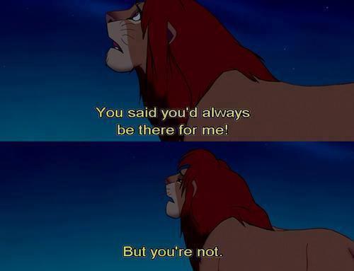 Tu m'as oublié en oubliant qui tu étais.