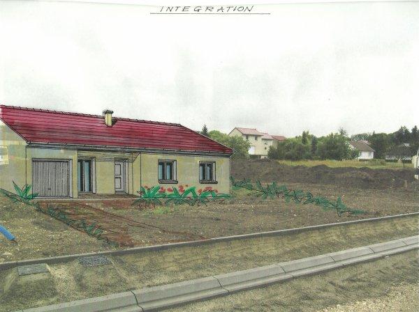 2e  étape, plan de la maison