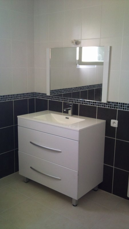 salle de bain fini