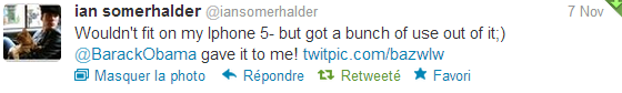 """Twitter Time"" Ian Somerhalder"