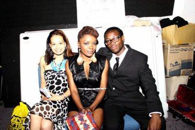 Hosts of the night are Jade, Tash & Fabrice