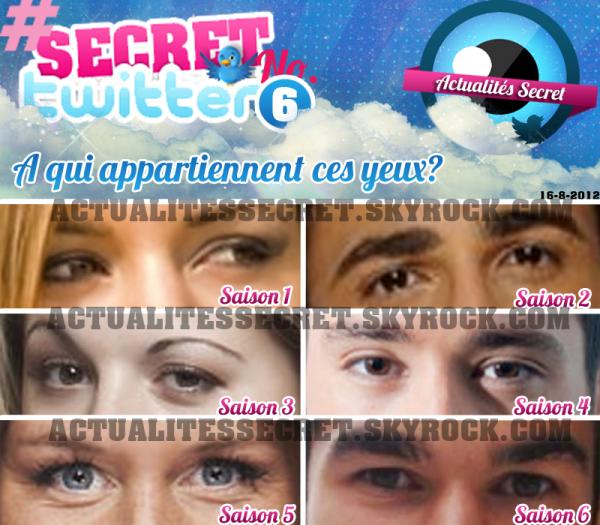 Le Jeu #SecretTwitter No. 6