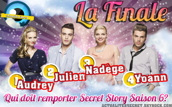 Qui doit Remporter Secret Story 6?