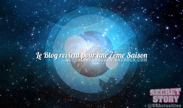 Le Blog revient pour une 7ème Saison!