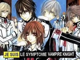 Je suis le simptome vampire knight
