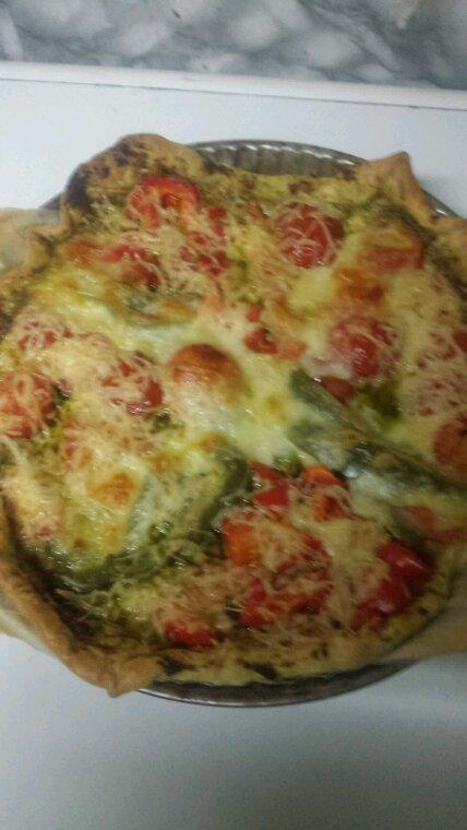 Tarte au légumes fromages