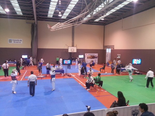 Championnat à GALICIA - ESPANA le 13/10/2012