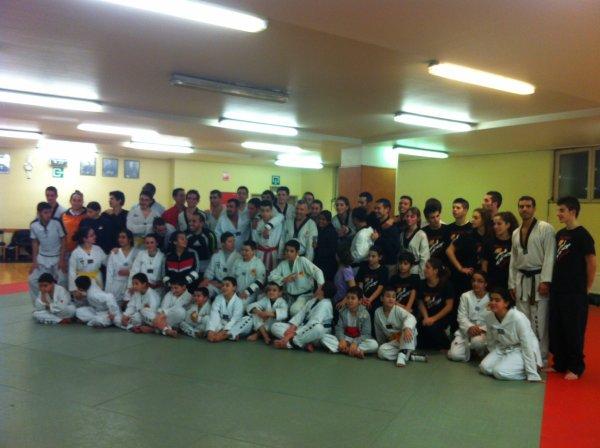 DImanche 9 decembre 2012 - Stage avec l équipe Sarde et l'équipe Espagnole (Valencia)