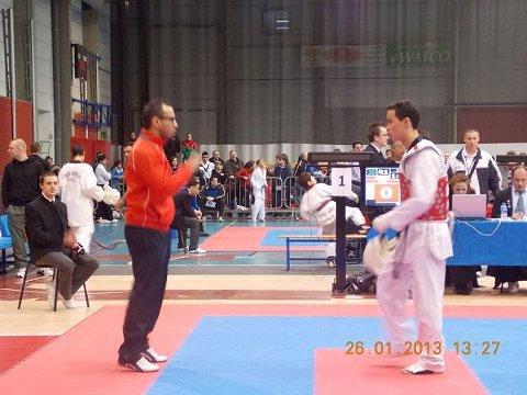 Championnat de Begique 2013 à Frameries