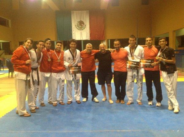 Les Médaillées à Mexico... Bravo à tous