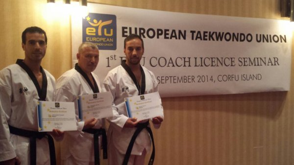 1st ETU COACH LICENCE SEMINAR - 5-7 SEPTEMBER 2014
