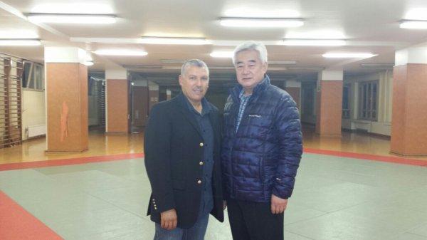 Visite du  Dr. CHOUE (Président de la WTF) au Palais du MIdi
