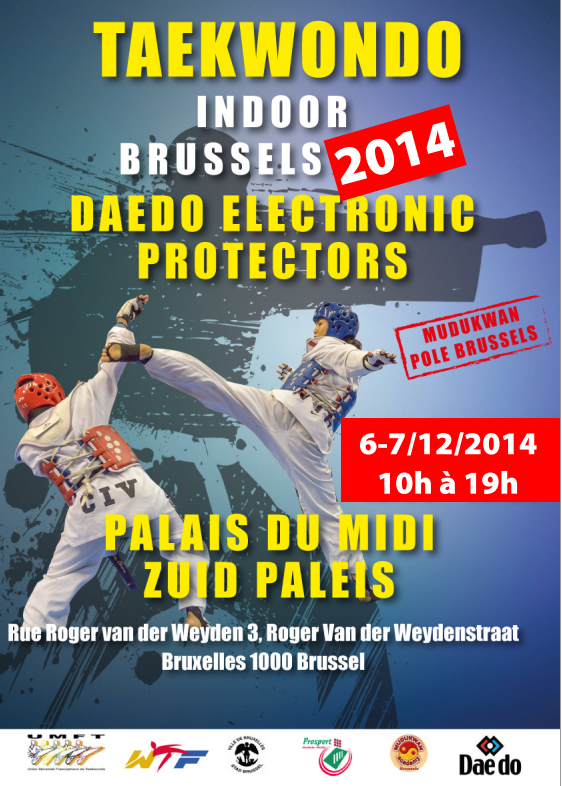 INDOOR BRUSSELS LE 6-7 DECEMBRE 2014 !!!