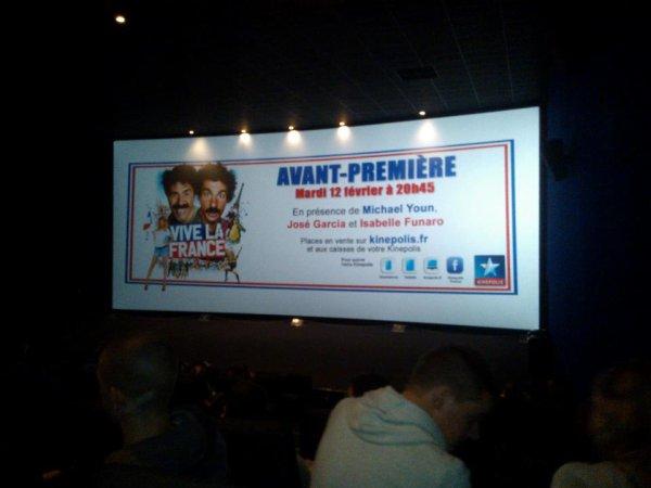 Avant premére de Vive la France !!!