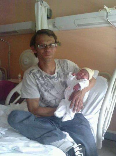 Lola et papa