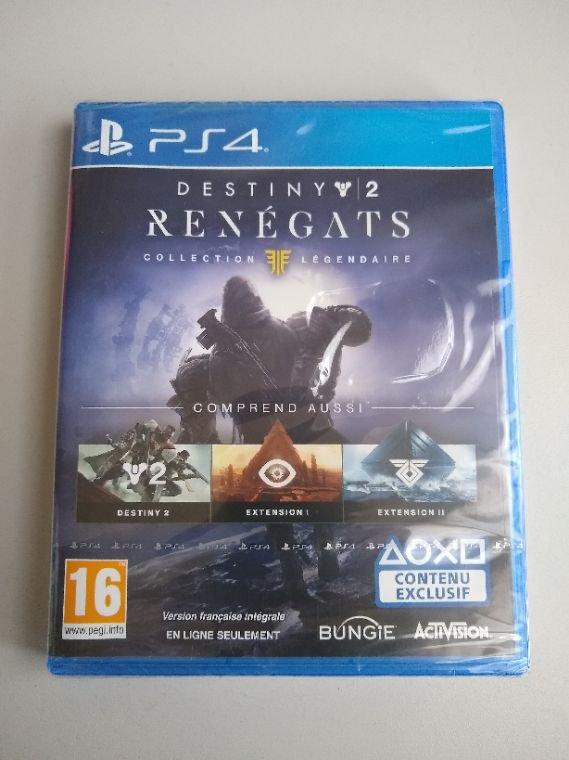 Destiny 2: Renégats - Collection Légendaire ps4