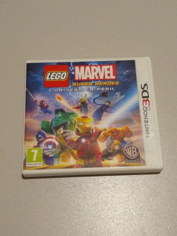 Logo Marvel Super Heroes 3ds