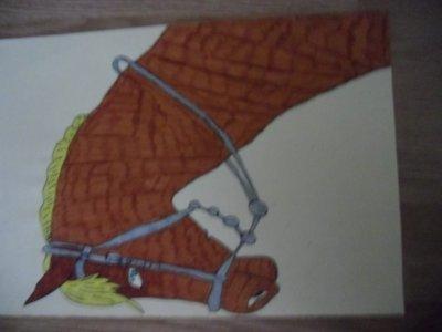 Mon cheval terminé