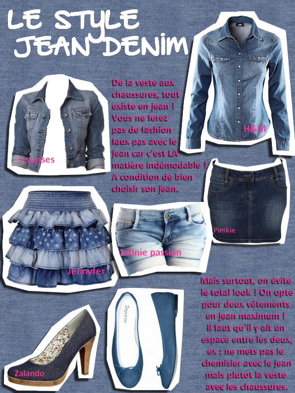 Style jean
