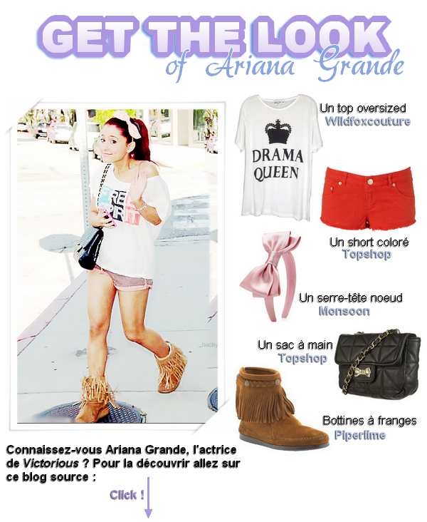 Get the Look of Ariana Grande