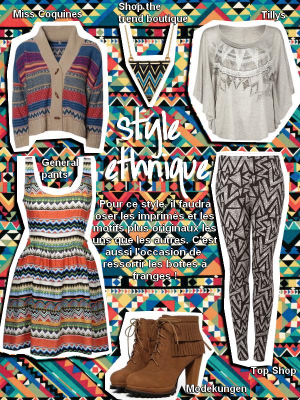 Style ethnique