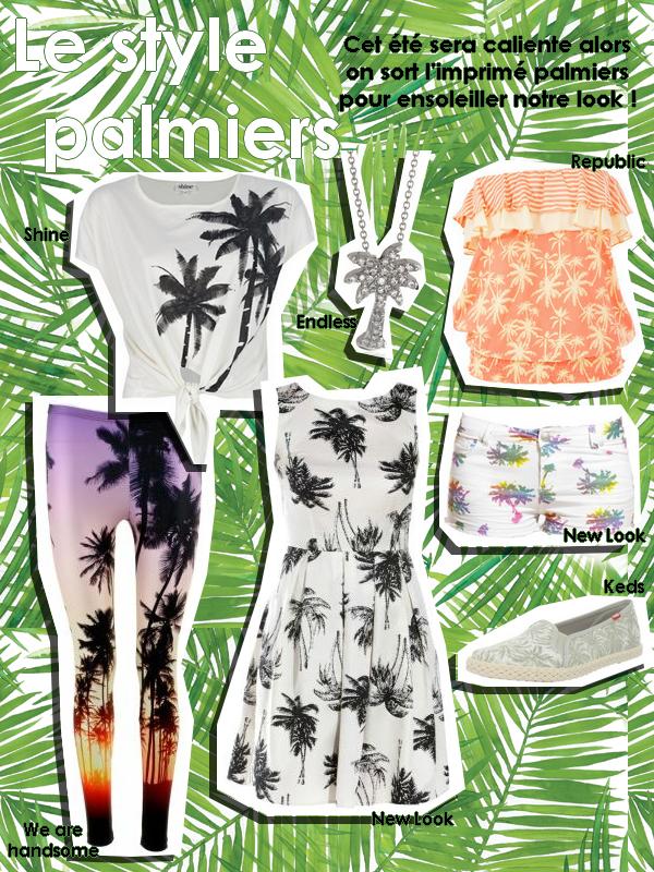 le style palmiers