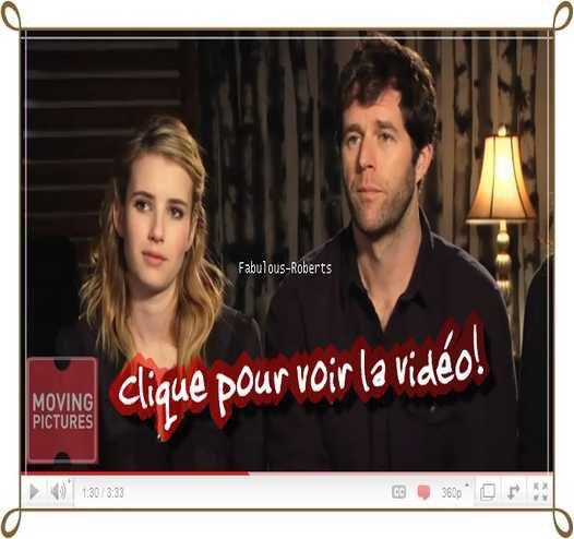 Interview de Emma Roberts, Elizabeth Reaser et autres pour le film Homework. (Interview:Février 2011)