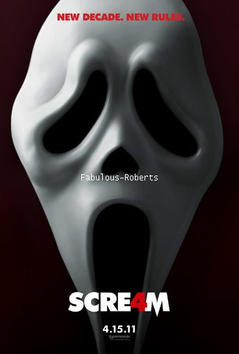 Scream 4 est sortit le 13 avril 2011 en France!!