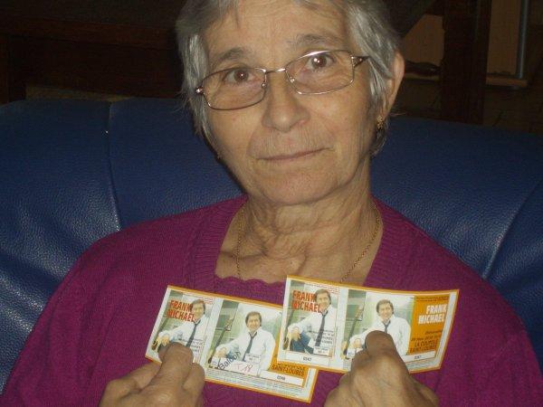 maman  et moi  va  voir  frank  michael  a  saint  loubes  le  28  novembre  2010