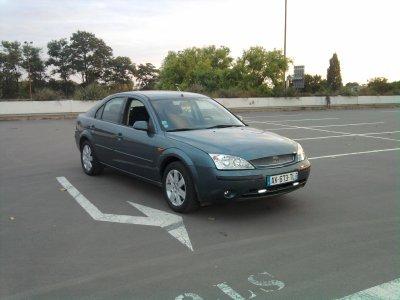 voila ma voiture ford mondeo de 2002