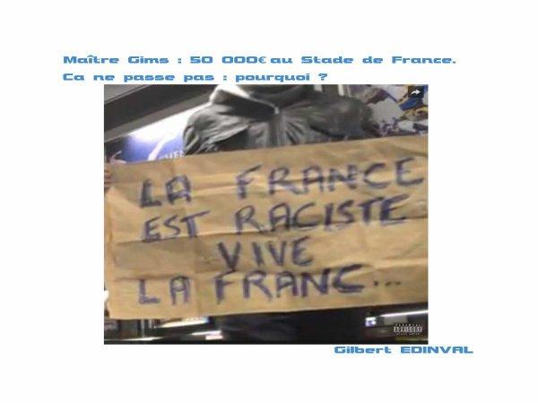 La France est raciste...
