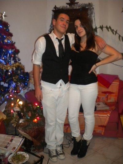 Mon 1er frère et moi <3