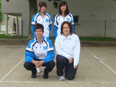 Saison 2009-2010 : Equipe moins de 18 ans