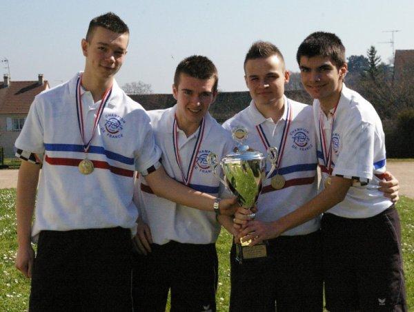 Saison 2013-2014 : Clubs Jeunes
