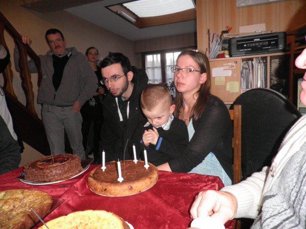 anniversaire de Lucas ...le 2/02/2014......4ans