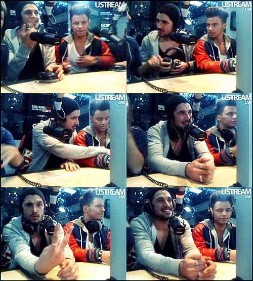 Noam sur Goom Radio avec Kévin, Jean-Philippe et Alexandre (12.04.2011)
