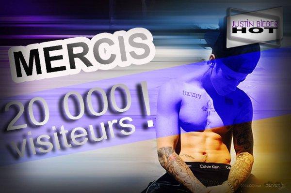 20 000 Visites !!!