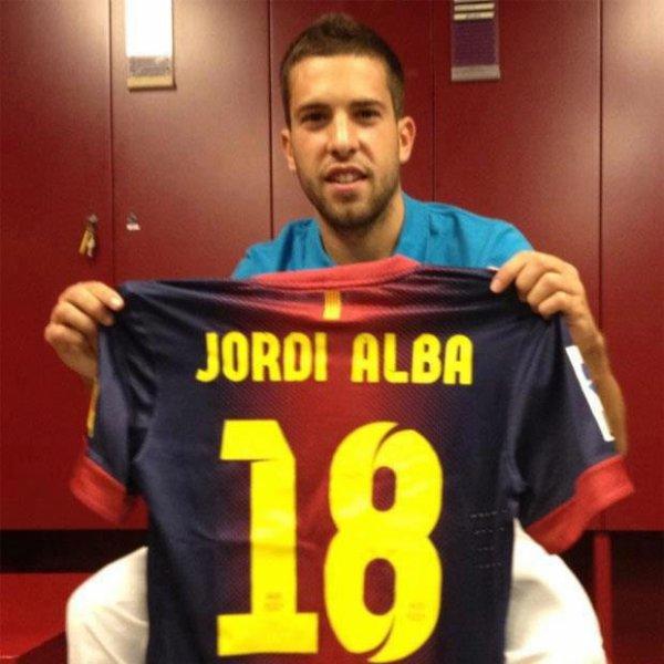 Jordi Alba signe au Barca !