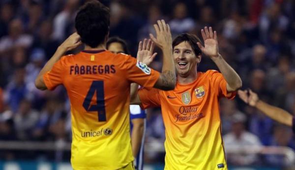 Messi  , le meilleur joueur du monde !