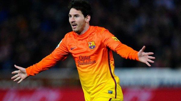 Messi soulier d'or pour la 3eme fois , encore un record :)