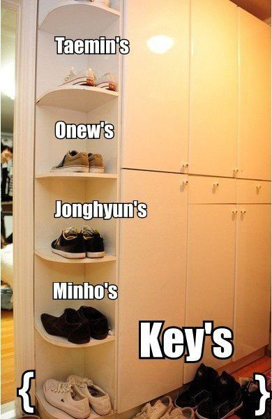 SHINee's Shoes