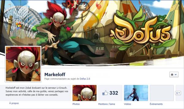 Page Facebook ... un succés !